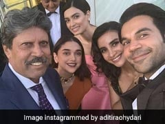 Aditi Rao Hydari And Rajkummar Rao's Fan Moment With Kapil Dev Is Something You Don't Want To Miss