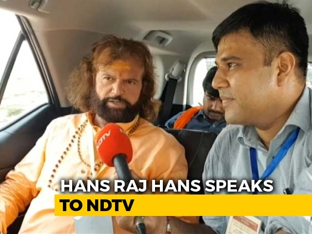 Video : PM Modi Has Loved Me And Trusted Me, Says BJP Candidate Hans Raj Hans