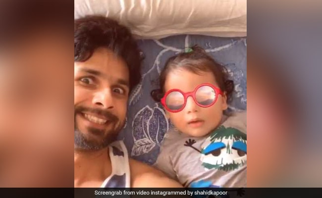 Shahid Kapoor Goofing Around With Son Zain Makes For An Adorable Video
