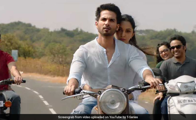 Kabir Singh Song Bekhayali Heartbroken Shahid Kapoor Just Can T Get