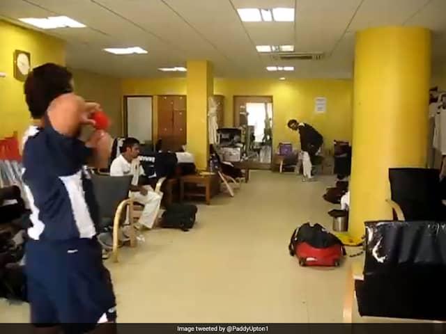 Watch: MS Dhoni Watches On As Sachin Tendulkar Bowls Bouncers To VVS Laxman In Throwback Video