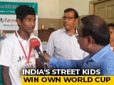 Video : Chennai And Mumbai Kids Win Cricket World Cup For Street Children in London