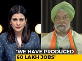 "Video : ""Pro-incumbency Wave For PM Modi"": Union Minister Hardeep Puri"