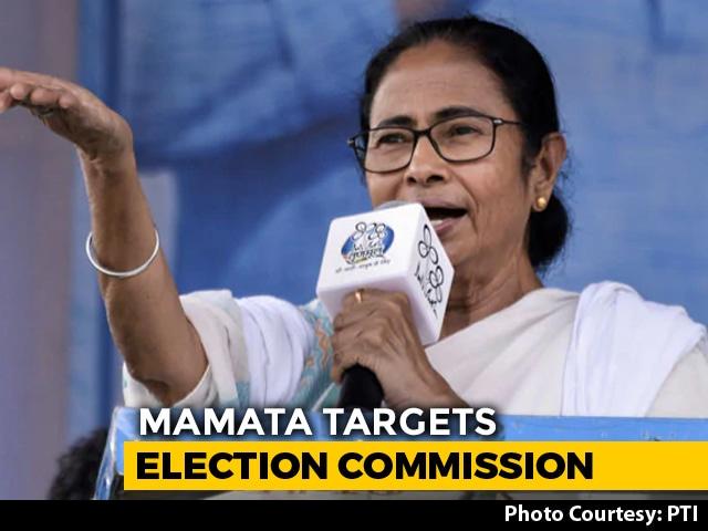 Poll Body Cuts Short Bengal Campaign, Mamata Banerjee Says 'Gift To BJP'