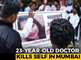 Video : Mumbai Doctor Kills Herself Allegedly Over Casteist Slurs From Seniors