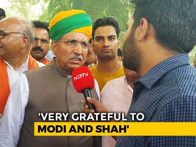 Video : Arjun Meghwal, Who Started Out As A Telephone Operator, Back In PM's Team