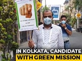 Video : South Kolkata's Independent Candidate Fight For Environment Issues
