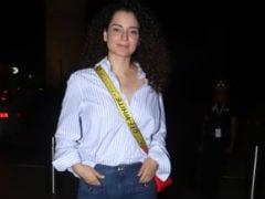 Cannes 2019: Kangana Ranaut Flies Out Of Mumbai Looking Ultra Chic