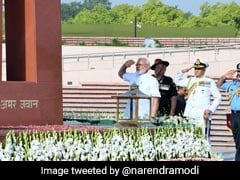 """National Security Our Priority"": PM After War Memorial Visit Before Oath"