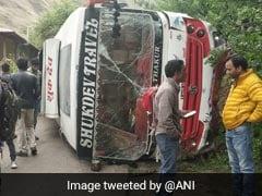 Bus Carrying BJP Workers Overturns In Himachal Pradesh, 7 Injured