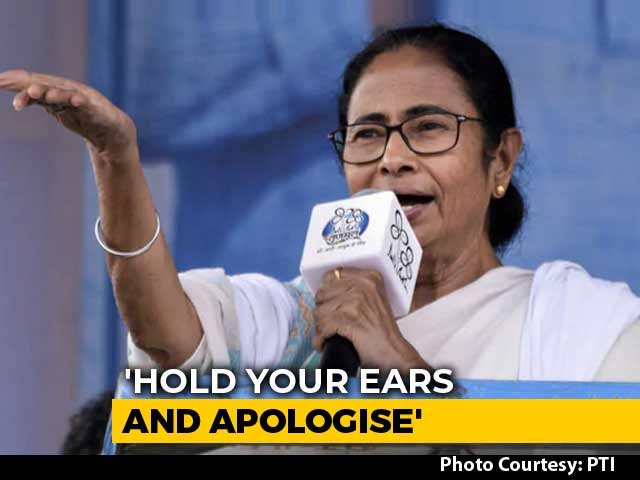 "Video : PM ""Drenched In Blood"", Says Mamata Banerjee After ""Extortionist"" Dig"