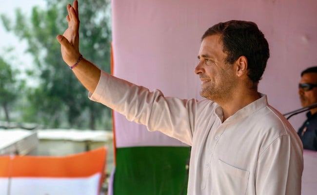 Rs 72,000 Will Be Given To Beneficiaries Under NYAY Scheme: Rahul Gandhi