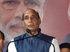 """Credibility Crisis'' Due To Difference In Words And Deeds: Rajnath Singh"