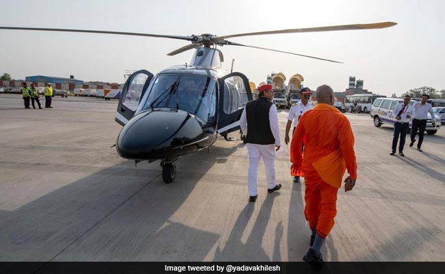 Akhilesh Yadav Travels With Saffron-Wearing 'Baba' To Expose Government