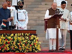 Amit Shah, BJP Chief, Joins PM Modi's New Government