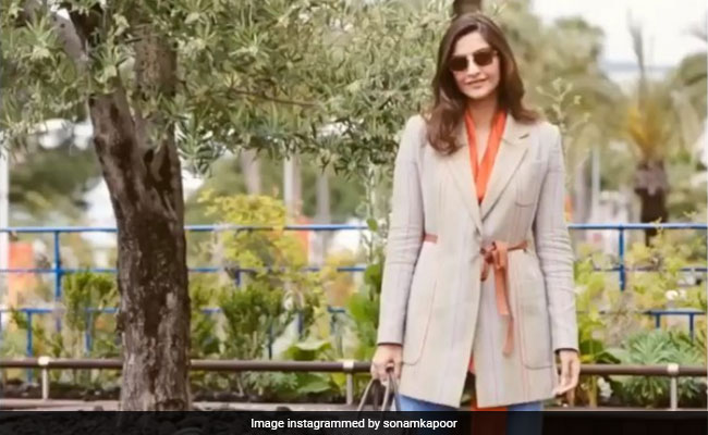 Sonam Kapoor channels inner 'Maharani' at Cannes 2019