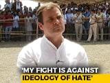 Video: My Fight Is Against Ideology Of Hate, Rahul Gandhi Tells Ravish Kumar