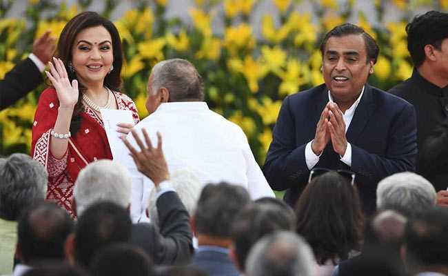Ratan Tata, Mukesh Ambani Among Guests At PM Modi's Oath Ceremony
