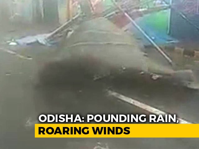 Video : Cyclone Fani: NDTV Reports From The Eye Of The Storm In Bhubaneswar