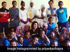Cannes Done, Priyanka Chopra Goes To Ethiopia As UNICEF Goodwill Ambassador