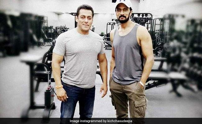 Salman Khan's Dabangg 3 Co-Star Sudeep Shares An Update About The Film's Climax Scene