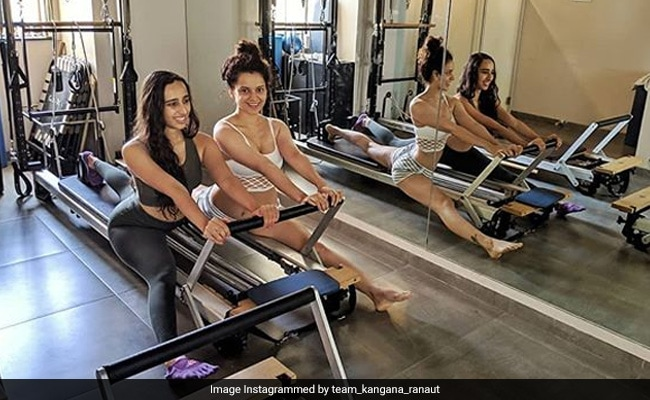 Kangana Ranaut's Monday Motivation. What Keeps The Mental Hai Kya Actress Going