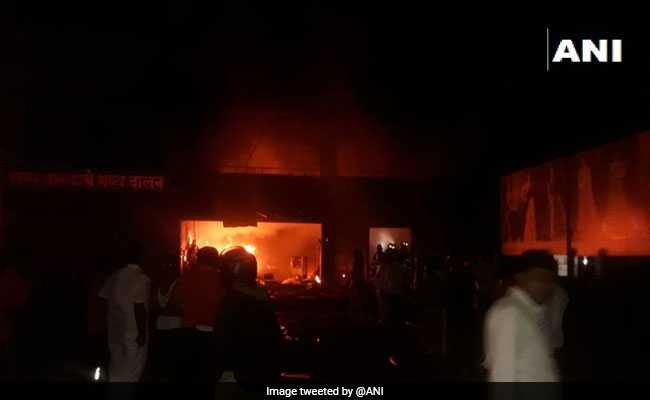 5 Dead In Fire At Cloth Godown In Village Near Pune