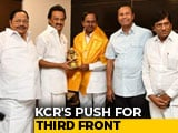 Video: KCR's Federal Front Pitch Gets Cold Shoulder From MK Stalin: Sources