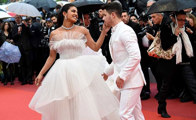 Cannes 2019: Priyanka Chopra Floats In On A 'Cloud Of Tulle,' Nick Jonas By Her Side