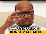 Video : In Opposition Liaising To Stop BJP, Sharad Pawar Opens New Line
