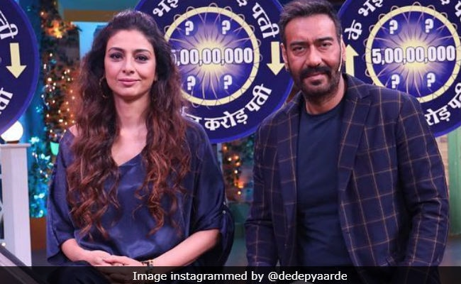 Tabu Says De De Pyaar De Co-Star Ajay Devgn Is 'One Of The Most Bankable Actors'