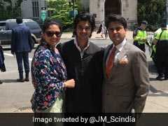 """Proud Father"": Jyotiraditya Scindia Tweets Pictures Of Son's Graduation"