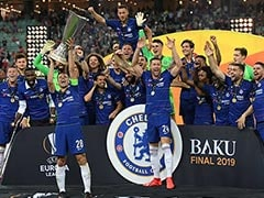 Eden Hazard Double Powers Chelsea To Europa League Title