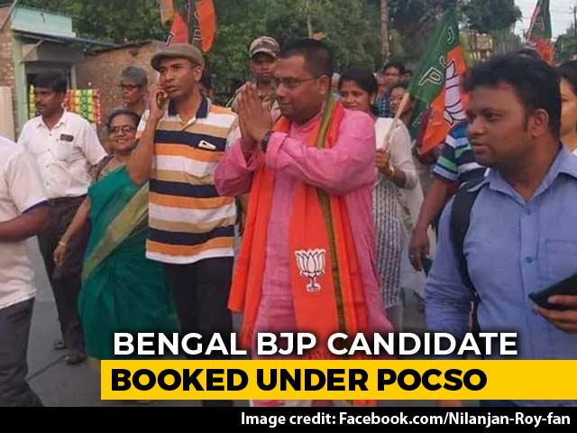 Video : Bengal BJP Candidate Allegedly Molests 17-Year-Old Girl, Complaint Filed