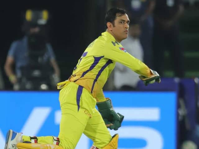 MS Dhoni Becomes Most Successful Wicket-Keeper In IPL History