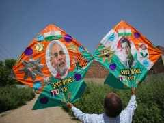 Narendra Modi Wins Second Term Easily, All Leads In: 10 Points