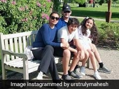 Mahesh Babu's Family Holiday Portrait Is All 'Happiness And Bliss'