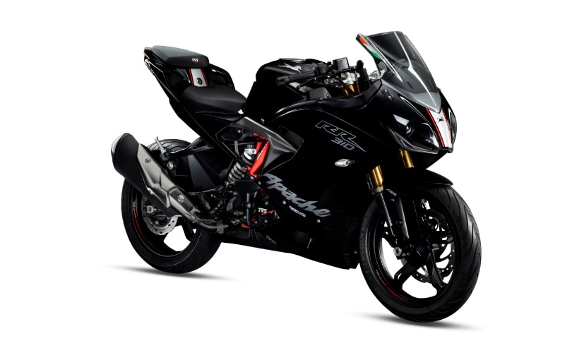 TVS Apache RR 310 With Race Tuned Slipper Clutch Launched At ₹ 2.27 Lakh