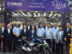 Yamaha Crosses 10 Million Production Landmark In India