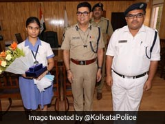 Girl Who Placed 4th In ISC Made Senior Cop For A Day, Is Father's 'Boss'