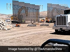 Trump Supporters Begin Construction Of Private US, Mexico Border Wall