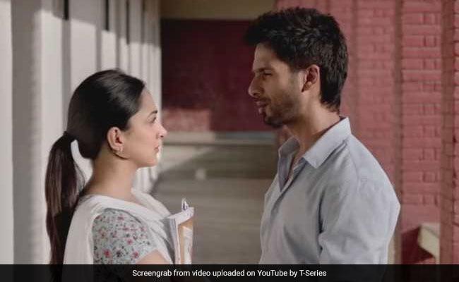 Kabir Singh Trailer Shahid Kapoor S Love For Kiara Advani Knows No