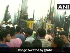 Fire Breaks Out At Kolkata's Park Circus, 12 Fire Engines At The Spot