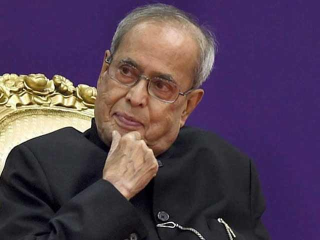Video : In Pranab Mukherjee's Speech, A Hint Seen For President Kovind