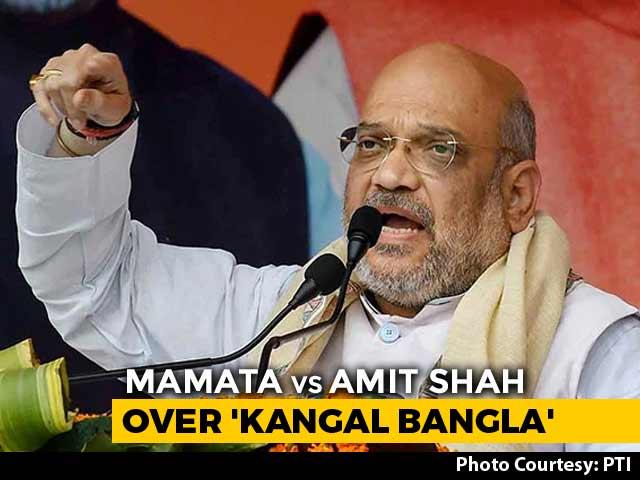 After Amit Shah's 'Kangal Bangla' Jibe, Mamata Banerjee Brings Up 'Riots'