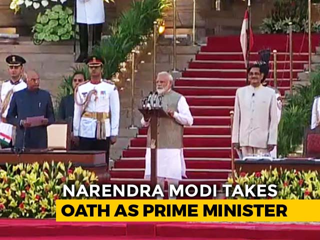 Video : PM Modi Takes Oath. Amit Shah Joins Cabinet
