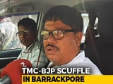 Video : BJP Candidate In West Bengal's Barrackpore Alleges Attack By TMC Workers
