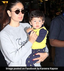 Kareena Reveals Why Taimur Isn't Allowed To Eat At Birthday Parties