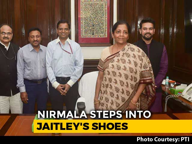 Video : With Finance, Nirmala Sitharaman Gets Big Vote of Confidence From PM Modi