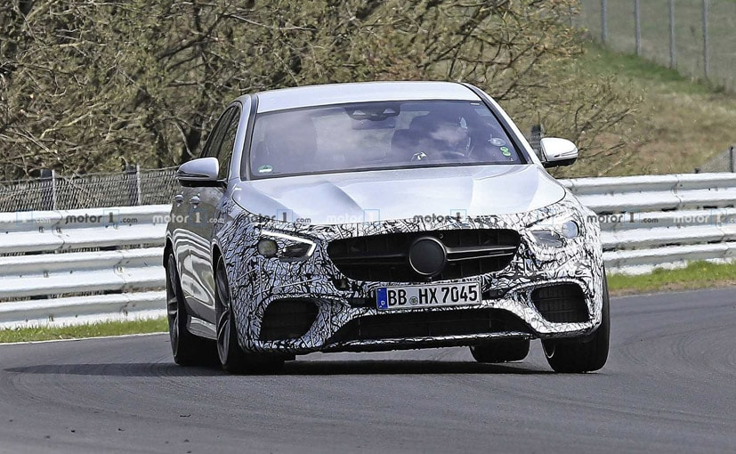 The upcoming E 63is a facelift and we don't expect any major power upgrades.